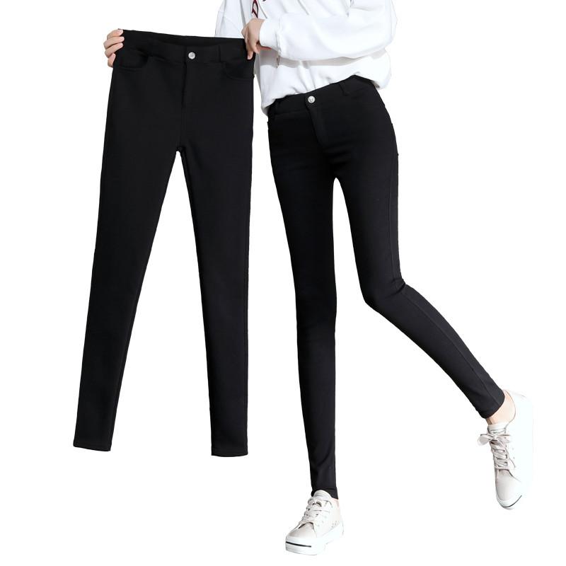 黑色魔术打底裤女裤外穿2020年新款高腰小脚显瘦百搭夏季薄款春秋